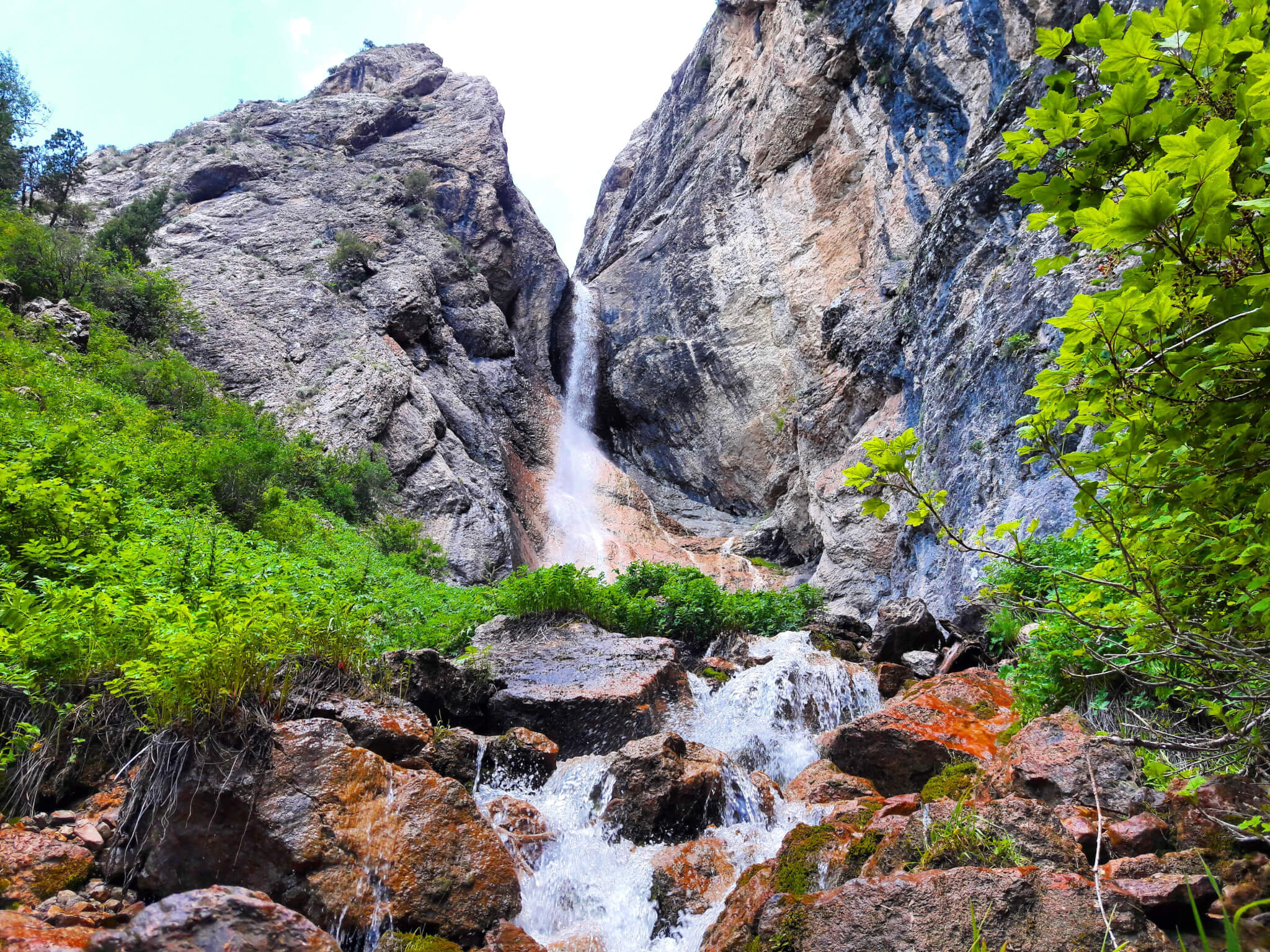 Info Shymkent - Kaindy Waterfall - Sairam Ugam Nationalpark