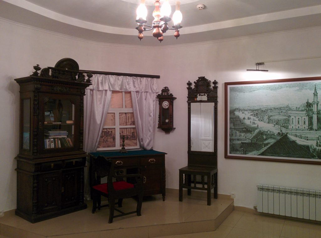 Abay Qunanbaiuly working room in Khakim Abay Museum in Shymkent.