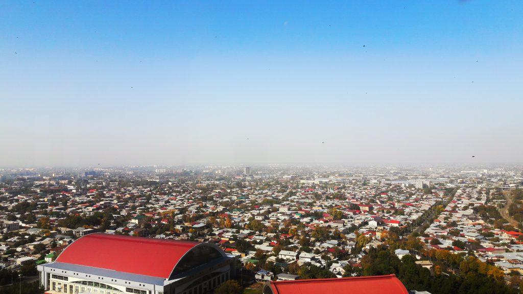 Info Shymkent - View from Tashkents TV tower.