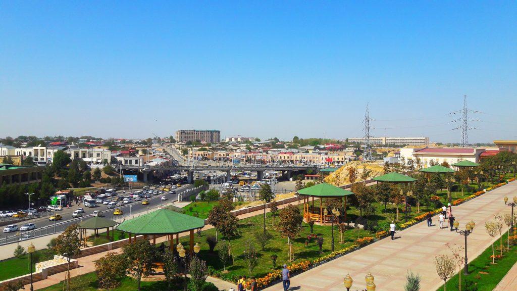 Info Shymkent - Skyline of Samarkand.