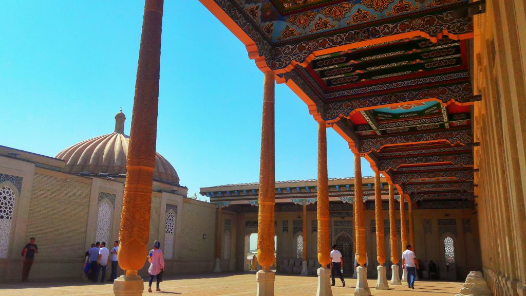 Info Shymkent - Khidr Mosque of Samarkand and home of the tomb of Uzbekistan´s former president  Islam Karimov