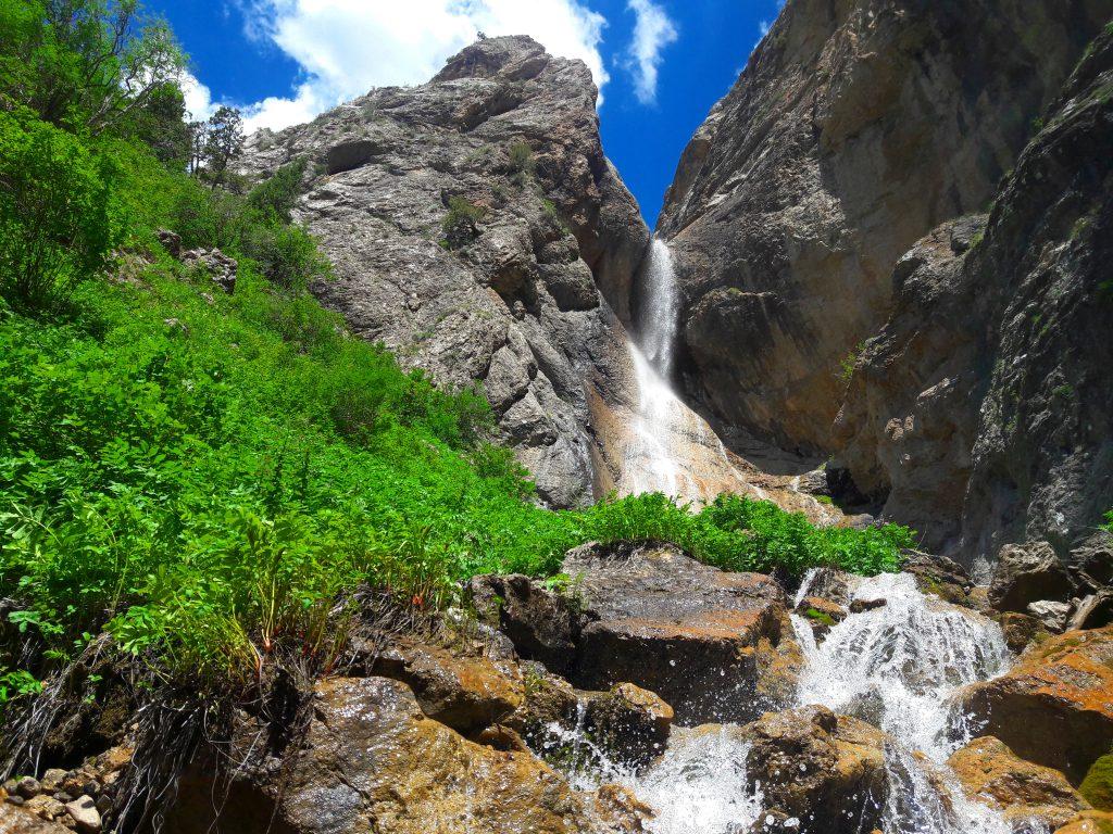 Info Shymkent - Kaindy Waterfall