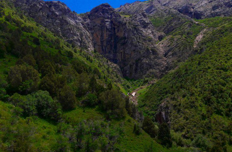 Waterfall Kaindy – Photo Gallery