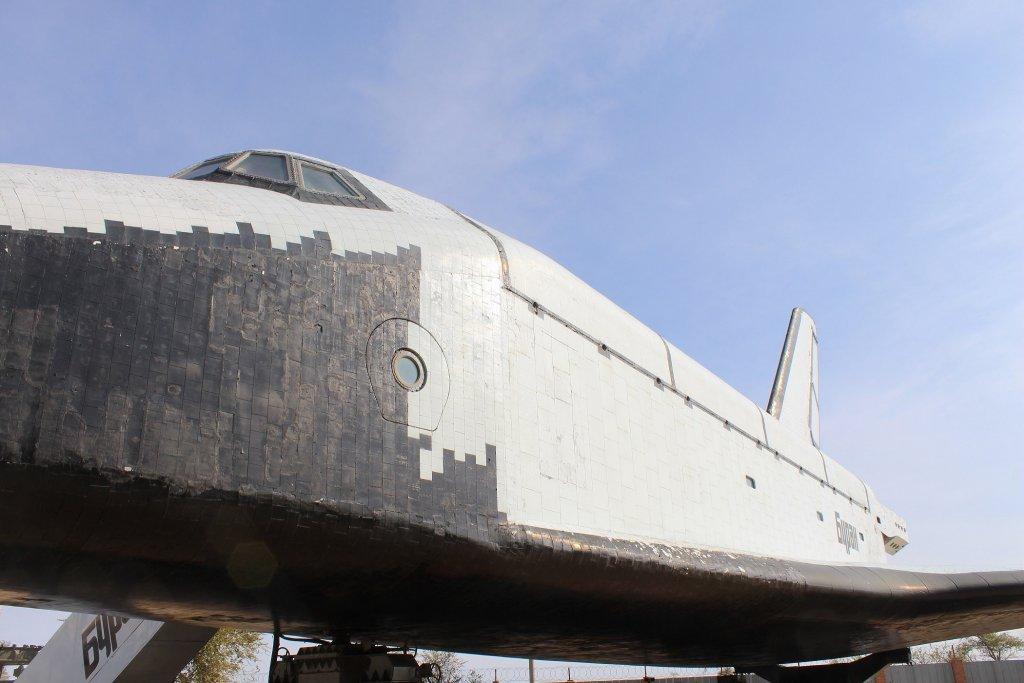 Info Shymkent - Space Shuttle Buran in Baikonur