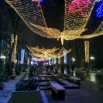 Info Shymkent - A thin blanket of snow is covering Shymkent's Arbat
