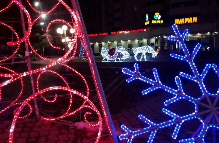 Winter in Shymkent