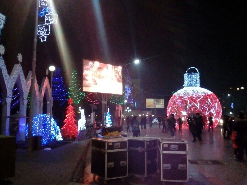 Info Shymkent - Winter in Shymkent