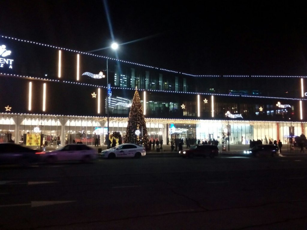 Info Shymkent - Shymkent Plaza during New Year