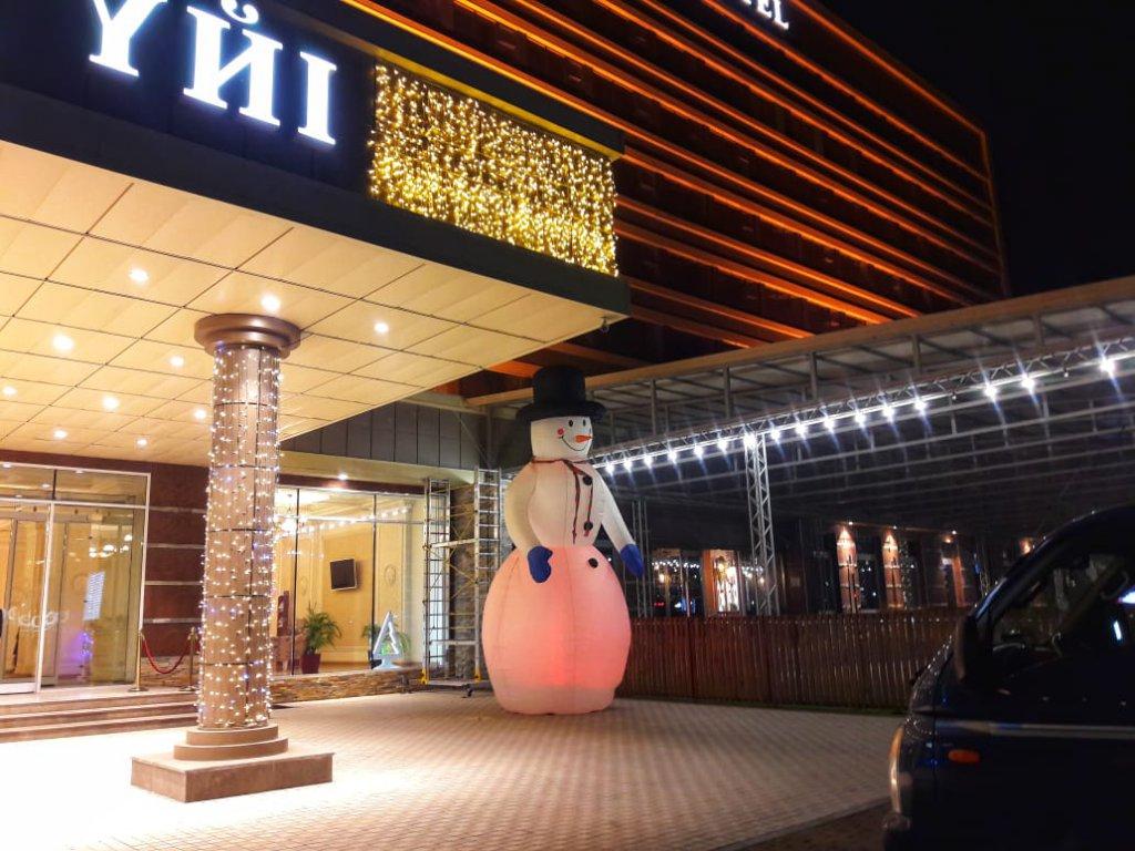 Info Shymkent - New Year Decoration at Shymkent Grand Hotel