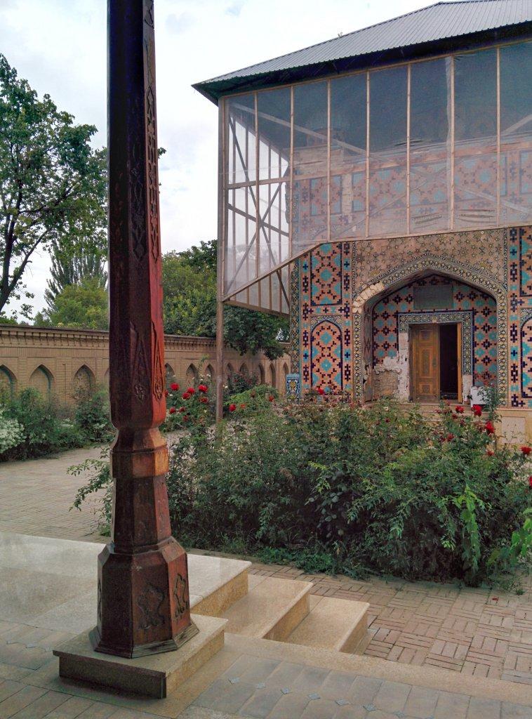 Info Shymkent - Monument of Kydyr Ata in Sayram