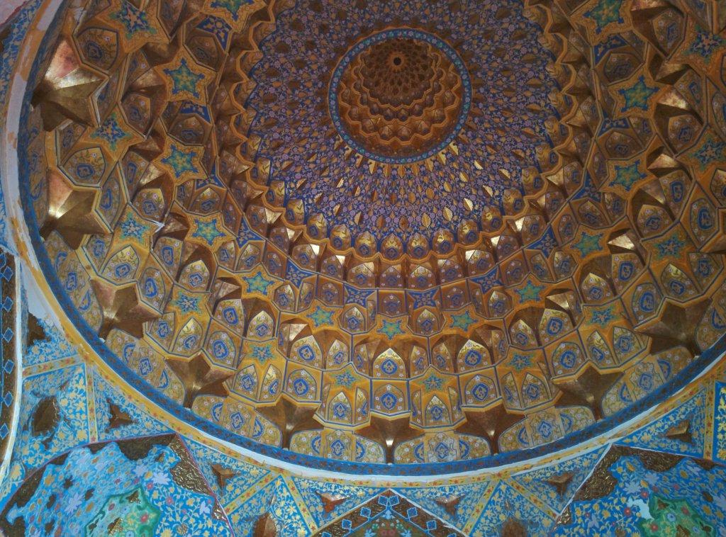 Info Shymkent - Inside of Monument of Kydyr Ata in Sayram