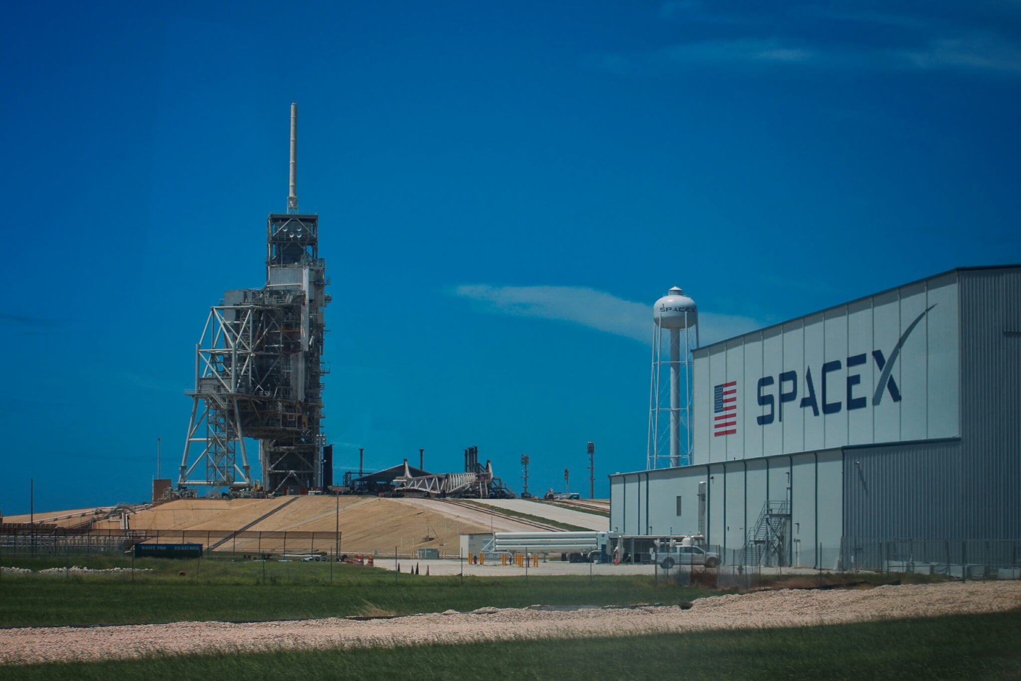 Info Shymkent - SpaceX Launch Pad LC39A