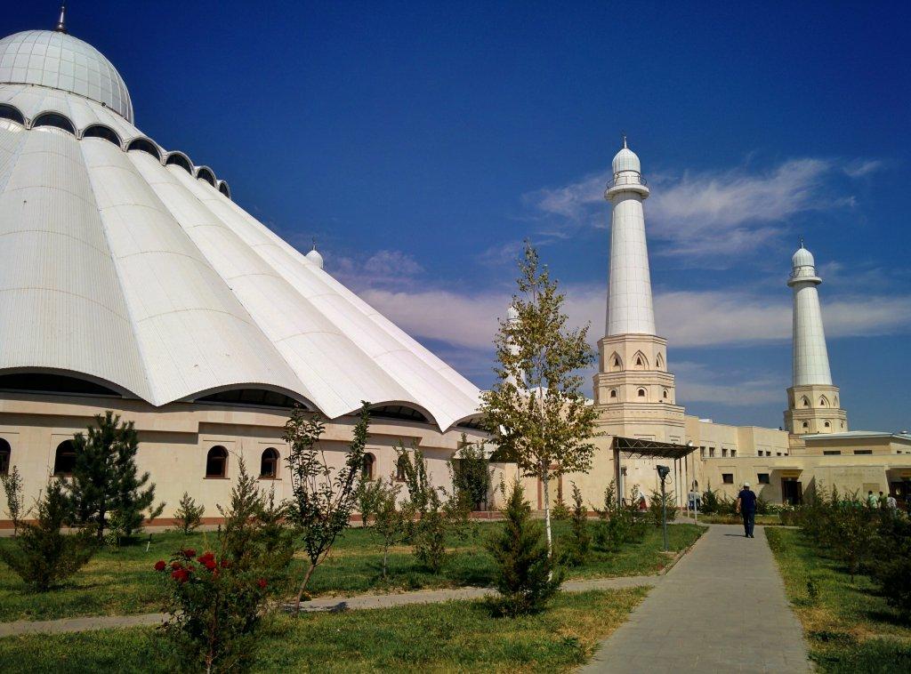 "Info Shymkent - Mosque ""Ak Meshit"""