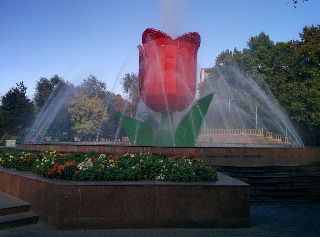 Info Shymkent - Tulip Fountain