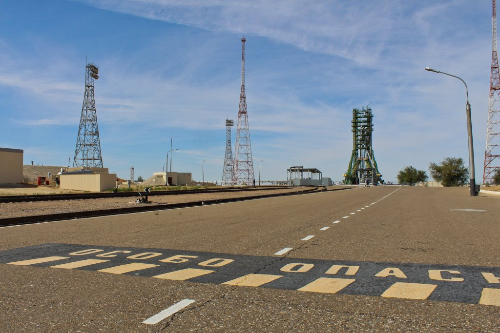 Info Shymkent - Launch Pad 31 in Cosmodrome Baikonur