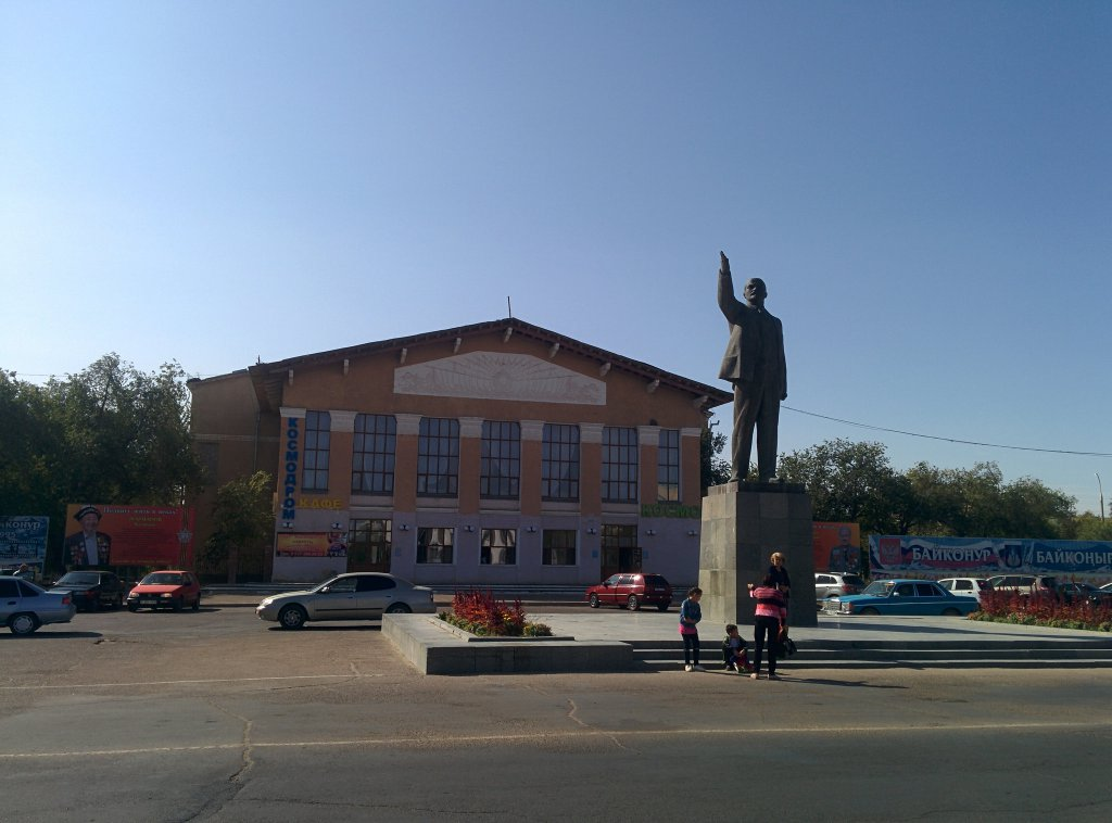 Info Shymkent - Lenin is still greeting Guests