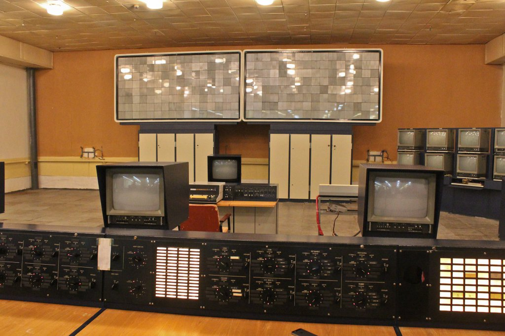 Info Shymkent - Control room of the former space shuttle Buran