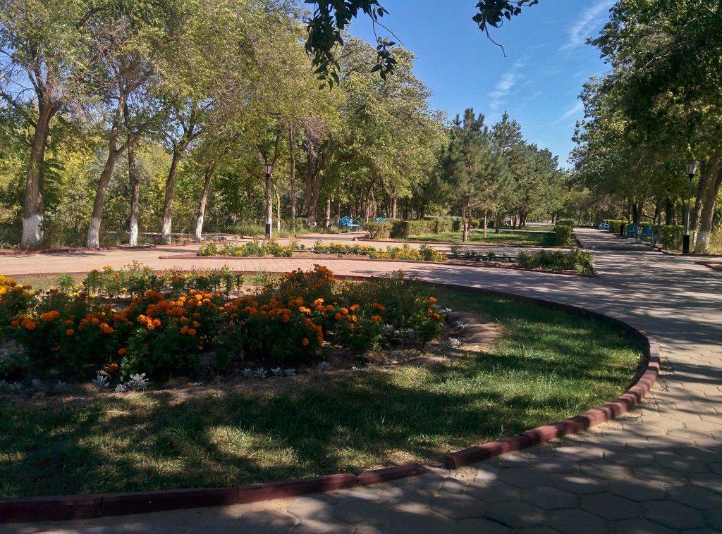 Info Shymkent - Park in Baikonur