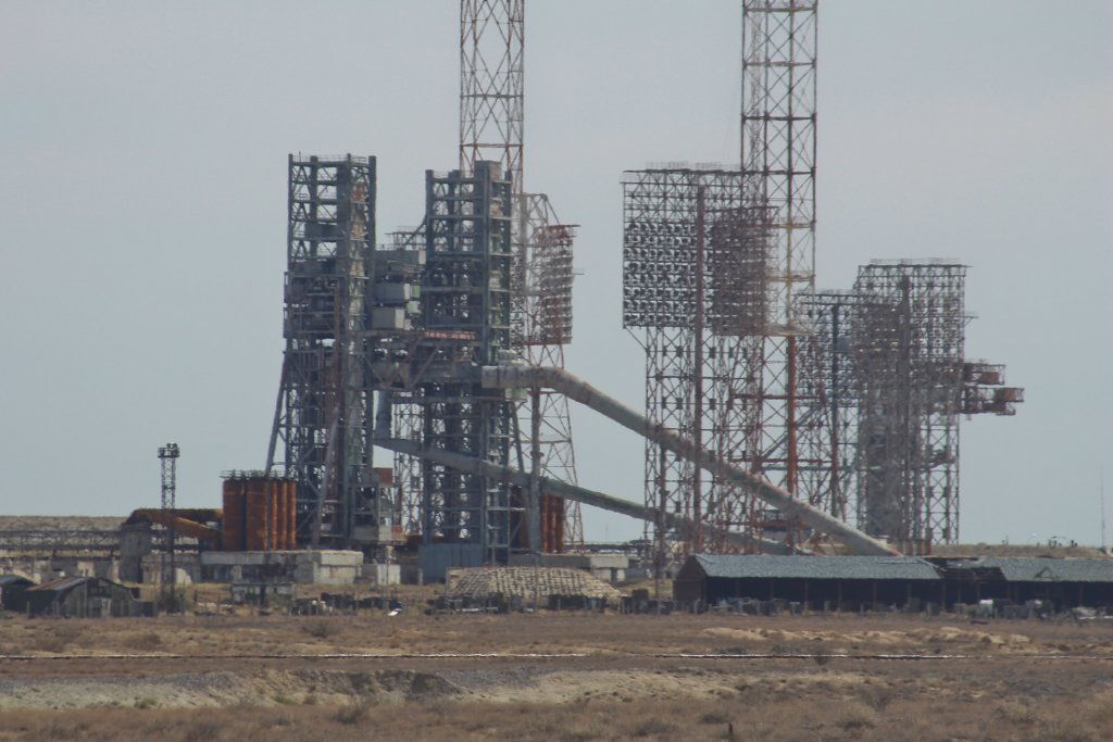 Info Shymkent - The old launch pad of Buran