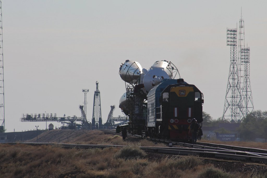 Info Shymkent - Rocket is on it's way to Gagarins Pad