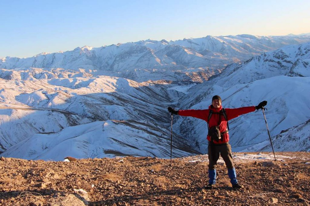 Info Shymkent - Guide Erzhigit can't stop the winter to make hiking tours