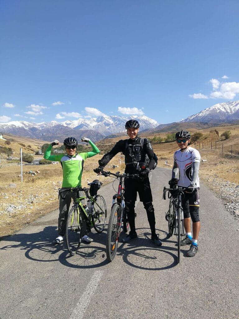 Info Shymkent - Guide Erzhigit is a passionate Biker.