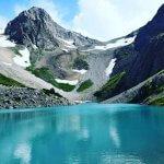 Info Shymkent - Light blue upper lake in Sairam Su