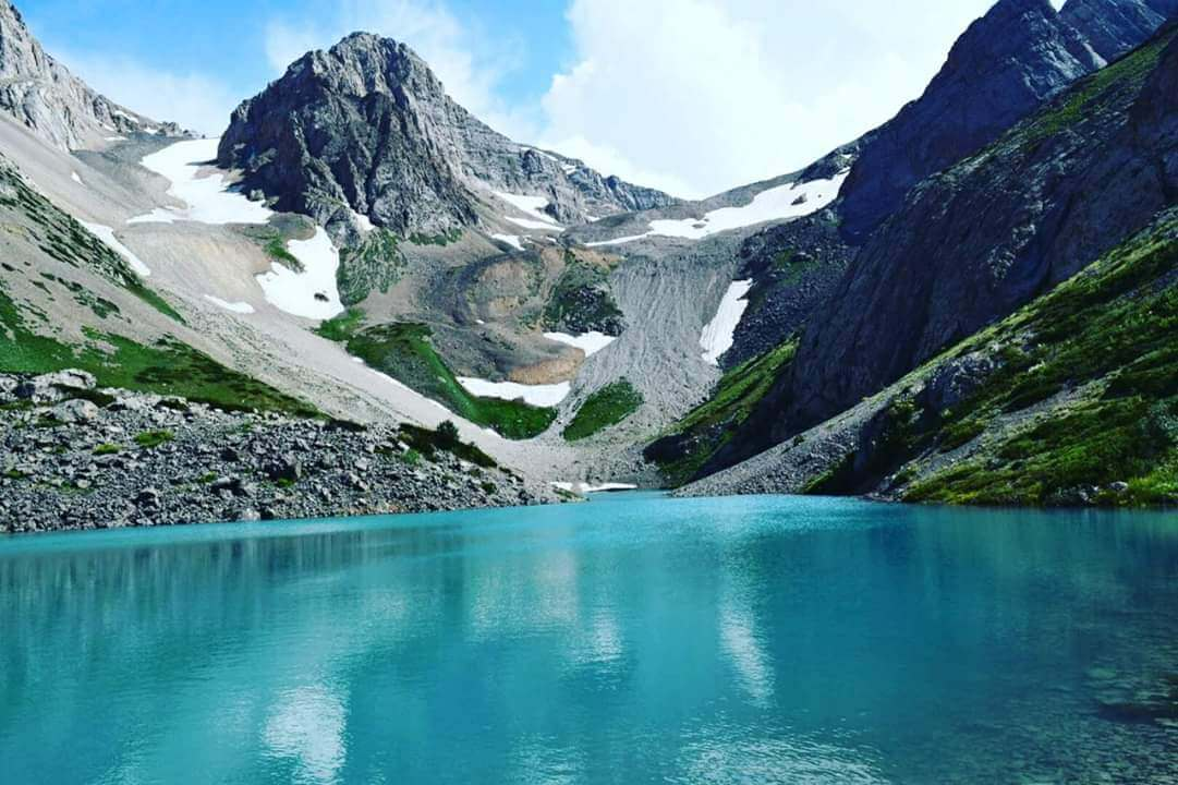 Info Shymkent - Light blue upper lake in Sairam Su