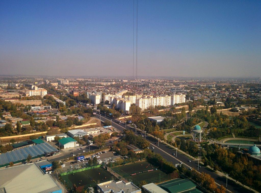 Info Shymkent - View to the suburbs Tashkent