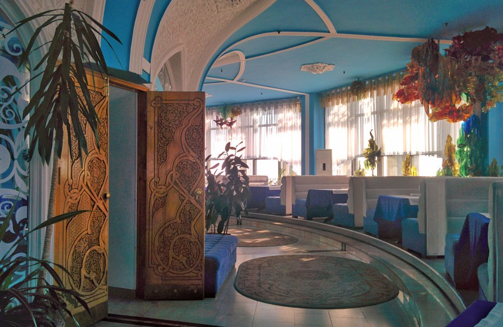 Info Shymkent - The restaurant in the TV Tower has a unique style
