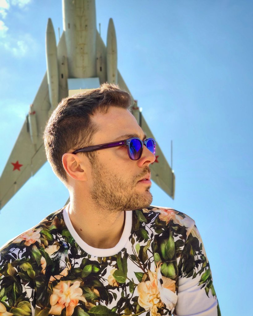 Info Shymkent - Son Pascal in Shyment's Abay Park