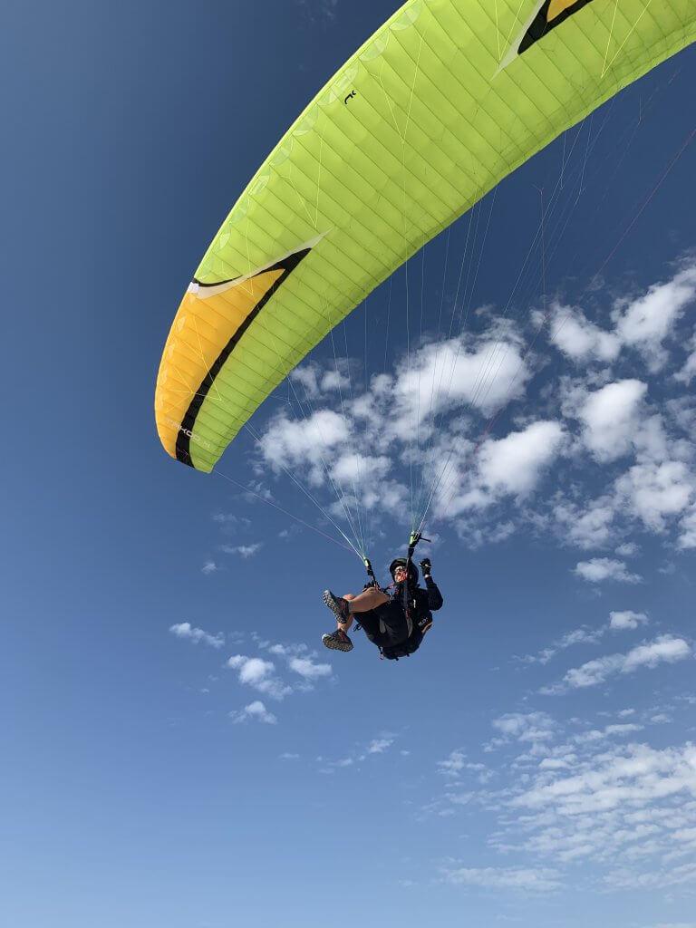 Info Shymkent - Son Pascal loves Paragliding