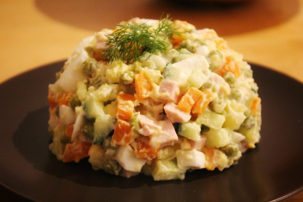 Info Shymkent - Recipe of delicious Olivier Salad