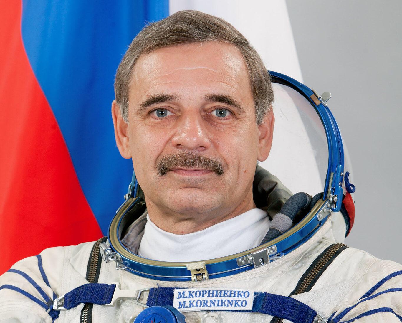 Info Shymkent - Official mission portrait of Mikhail Kornienko (Image: NASA)