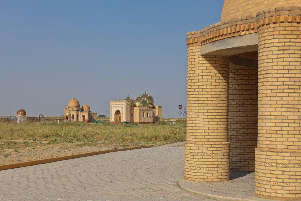 Info Shymkent - Mausoleums at Arystan Bab