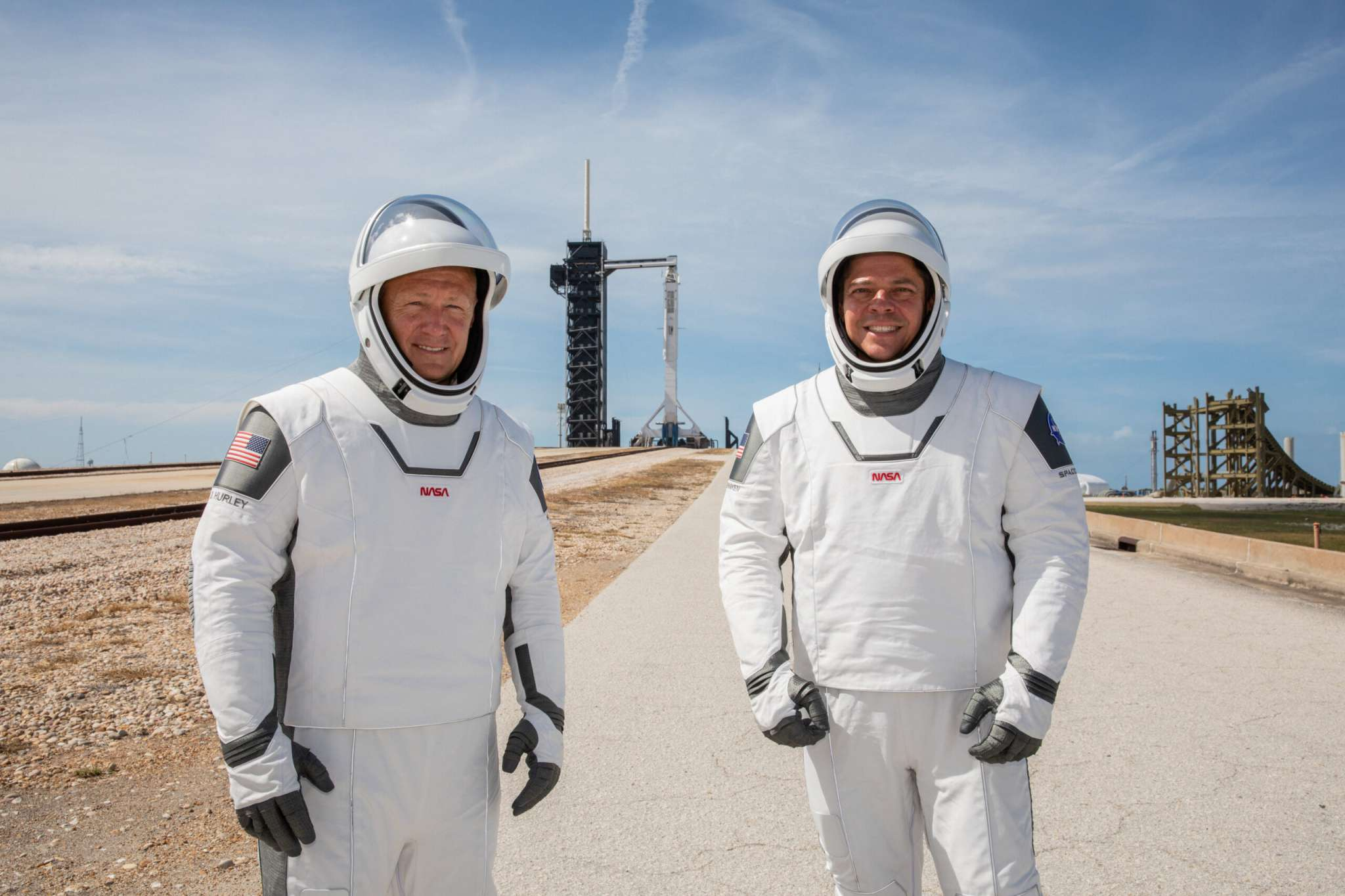Info Shymkent - Astronauts for 1st Crew Dragon flight: Behnken and Hurley (Image: NASA)