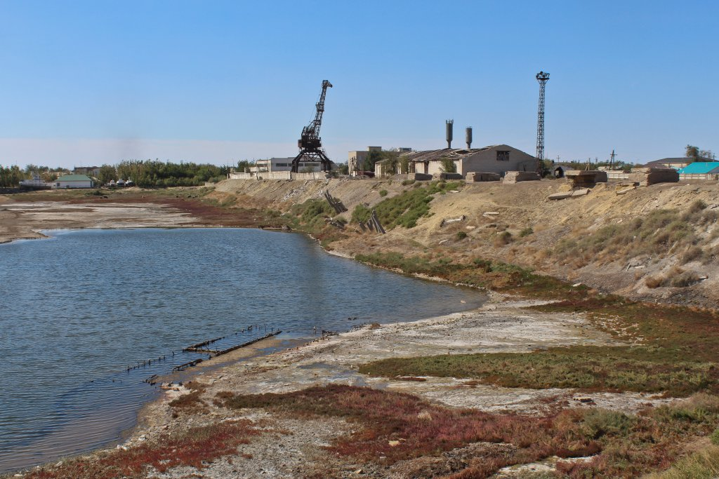 Info Shymkent - Harbour of Aralsk at Aral Sea