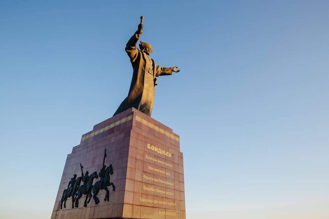 Info Shymkent - Baidibek Monument in Shymkent