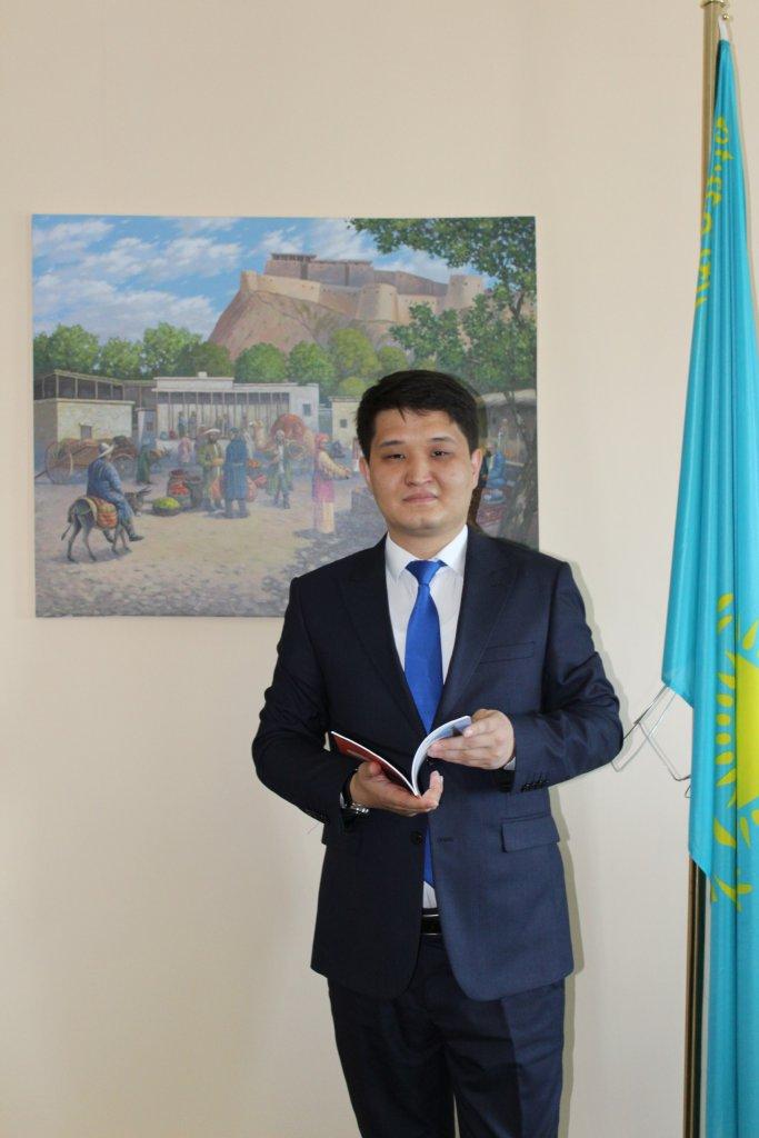 Info Shymkent - Olzhas Shintayev, Head of Tourism Department in Shymkent