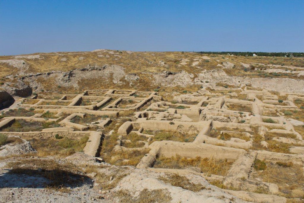 Info Shymkent - Foundations of the living quarter of ancient city Farab (Otrartobe) in Kazakhstan