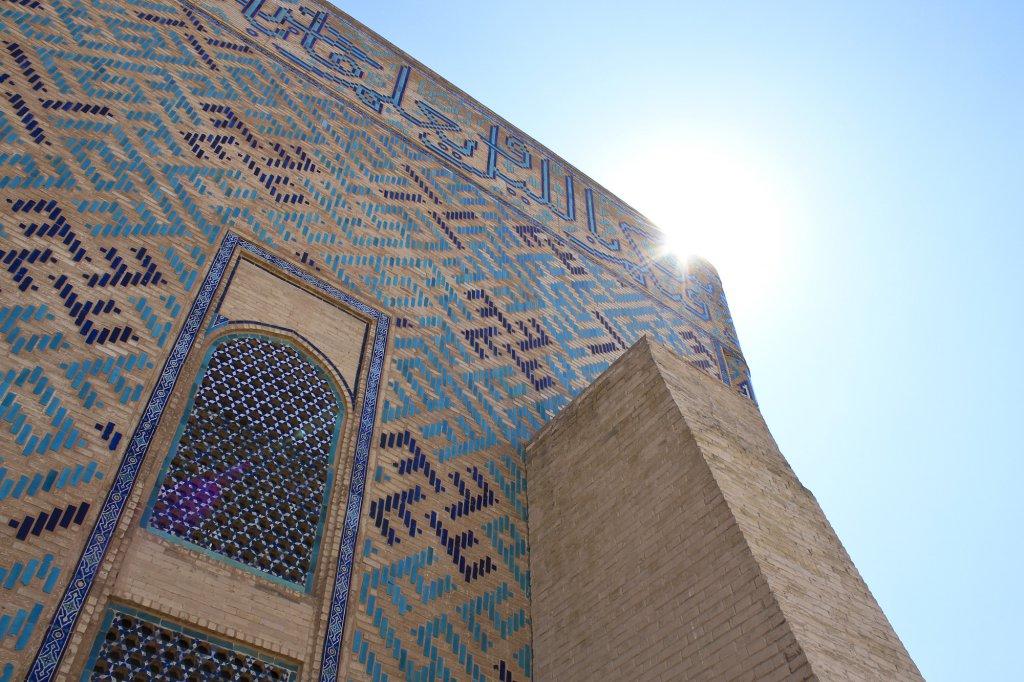 Info Shymkent - Hot sun at Yassawi Mausoleum