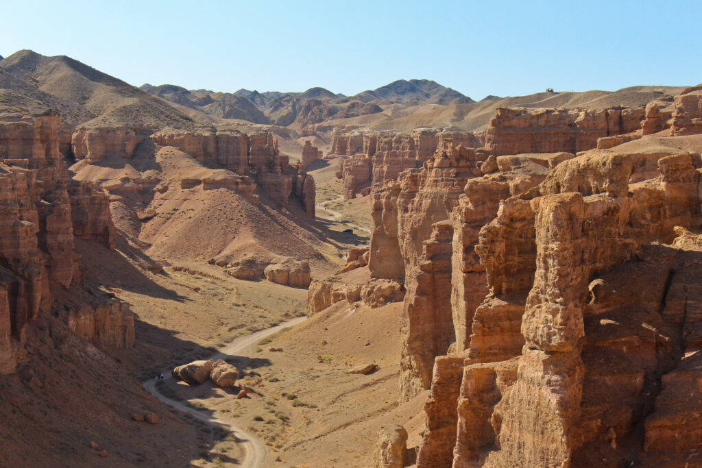 Info Shymkent - The Sharyn Canyon in South East Kazakstan