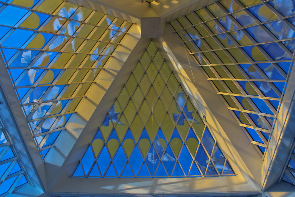 Info Shymkent - The nice tip of the Pyramid in Nur-Sultan.