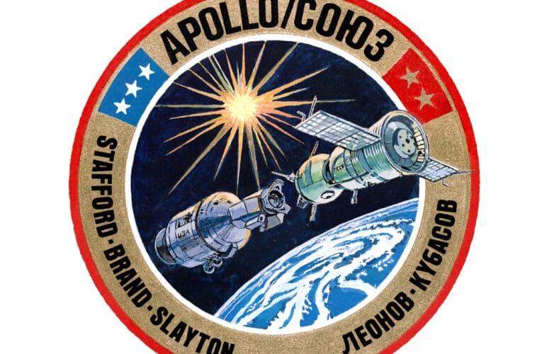 45 years ago: 1st international handshake in space during Apollo-Soyuz