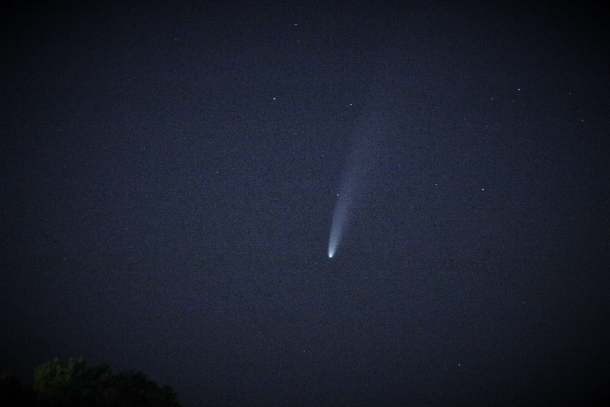 Info Shymkent - Comet Neowise in Central Asia