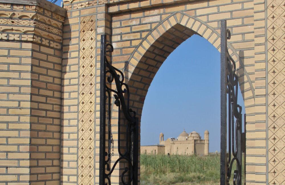 Info Shymkent - Entrance to Arystan Bab site