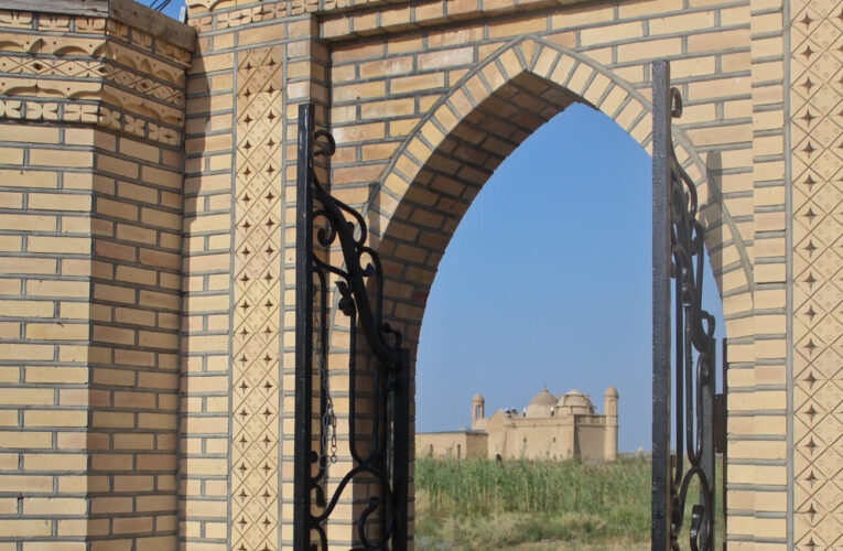 Info Shymkent - Entrance to Arystan Bab site