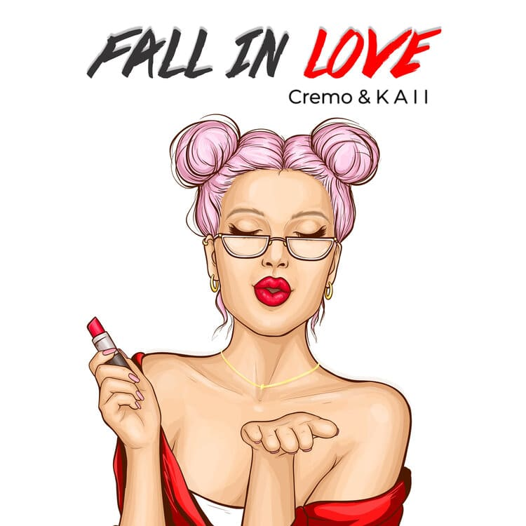 "Info Shymkent - Cover picture of Cremo's single ""Fall in love"""