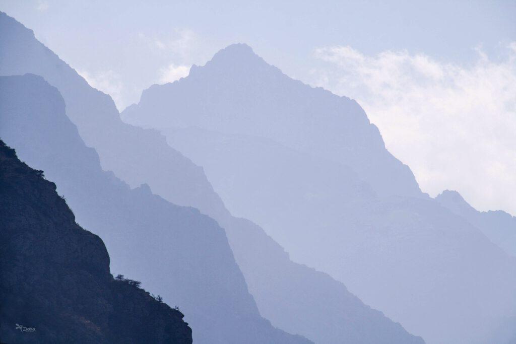 Info Shymkent - Silhouette of Kazakhstan's Sairam Su Mountain (Photo: Dana Madaliyeva)