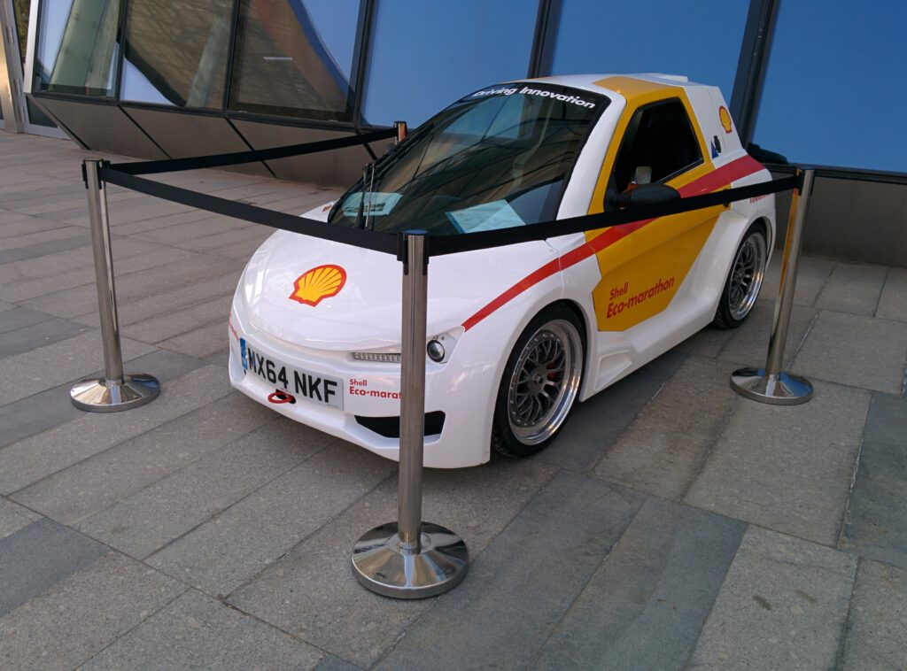 Info Shymkent - Expo 2017 - 1 Litre car of the Shell Eco-marathon